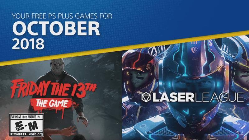 Playstation Plus Październik 2018