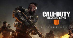 Call of Duty Black Ops 4 już 12 pażdziernika