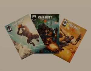 Komiks Call of Duty: Black Ops 4