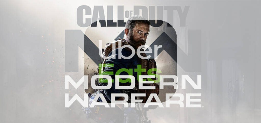 Call of duty modern warfare uber eats